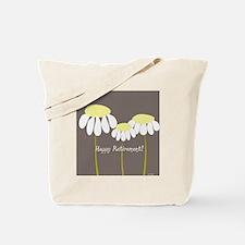 happy retirement daisies Tote Bag