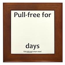 Pull-Free (Light) Framed Tile