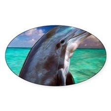 Dolphin Profile Decal