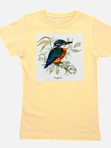 Kingfisher Peter Bere Design Girl's Tee