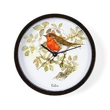 Robin Peter Bere Design Wall Clock
