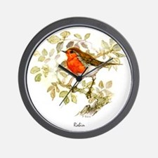 Robin Peter Bere Design Wall Clock