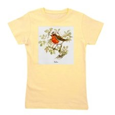 Robin Peter Bere Design Girl's Tee