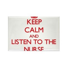 Keep Calm and Listen to the Nurse Magnets