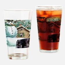 Neapolitan Mastiff Drinking Glass