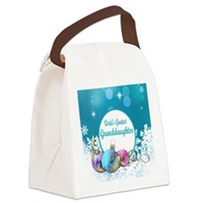 Worlds Greatest Grand  Daughter Canvas Lunch Bag
