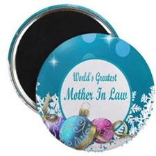 Worlds Greatest Mother In Law Magnet