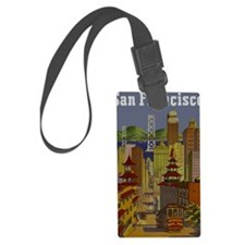 Vintage San Francisco Travel Luggage Tag