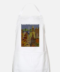 Vintage San Francisco Travel Apron
