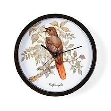 Nightingale Peter Bere Design Wall Clock