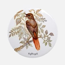 Nightingale Peter Bere Design Round Ornament