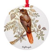 Nightingale Peter Bere Design Ornament