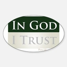 God is My Trust Decal