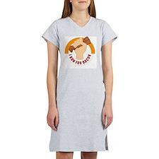 I Run For Bacon Women's Nightshirt