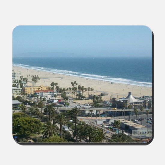 THE PERFECT VIEW IN SANTA MONICA,CA Mousepad