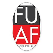 FU AF Wide Decal