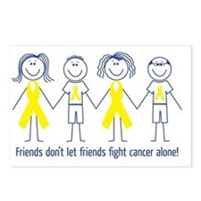 Friends don't let friends Postcards (Package of 8)