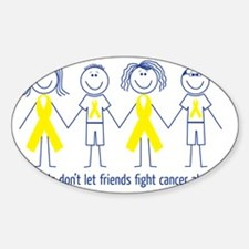 Friends don't let friends fight can Decal