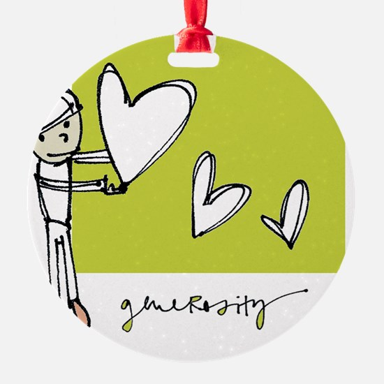 Give From the Heart Ornament