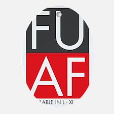 FU AF Oval Ornament