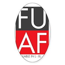 FU AF Decal