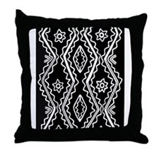 Iroquiois Motif Throw Pillow