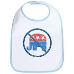Anti GOP Baby Bib