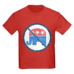 Anti GOP Kids T Shirt (Dark)