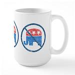 Anti GOP Large Mug