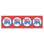 Anti GOP Bumper Sticker