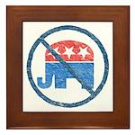 Anti GOP Tile (Framed)