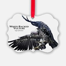 White-Backed Vulture Ornament