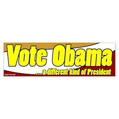 Vote Obama Bumper Bumper Sticker