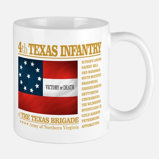 4th Texas Infantry (BA2) Mugs