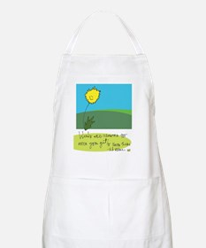 Beauty Where You Least Expect It Apron
