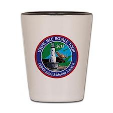 Isle Royale Lighthouse Tour Shot Glass