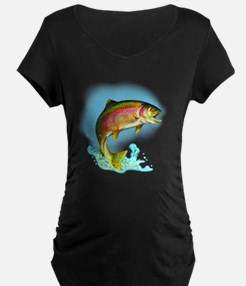 Jumping Rainbow Trout T-Shirt