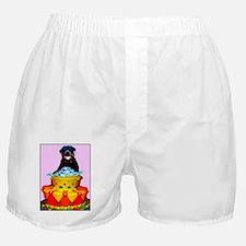 rottweiler birthday card Boxer Shorts