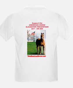 Save America's Horses/HR 503 T-Shirt