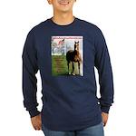 Save America's Horses- Long Sleeve Dark T-Shirt