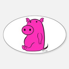 PIGGY Oval Decal