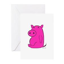 PIGGY Greeting Cards (Pk of 10)