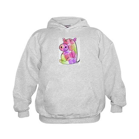 ROSEY PIG Kids Hoodie