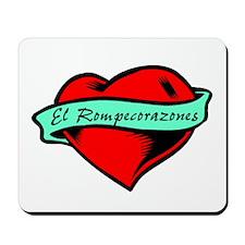 Heartbreaker (Spanish Male) Mousepad