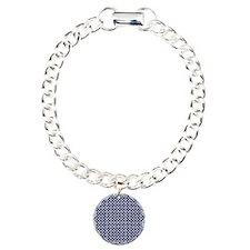dark blue with white dot Bracelet