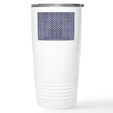 dark blue with white do Travel Mug