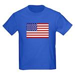 Stars and stripes  Kids Dark T-Shirt