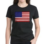 Stars and stripes  Women's Dark T-Shirt