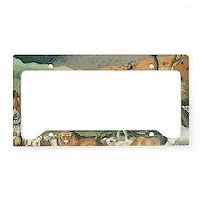 Noahs Ark License Plate Holder