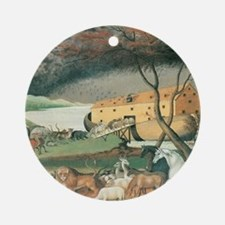 Noahs Ark Round Ornament